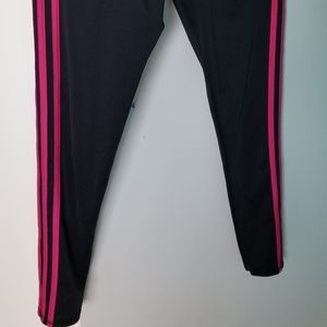 Adidas leggings hot pink